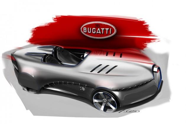 Bugatti Type 35 concept