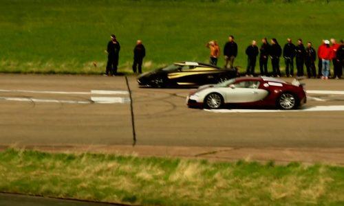 Video: Bugatti Veyron vs Koenigsegg Agera S Hundra