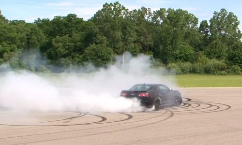 Video: Chevrolet Camaro ZL1 celebrates US National Doughnut Day
