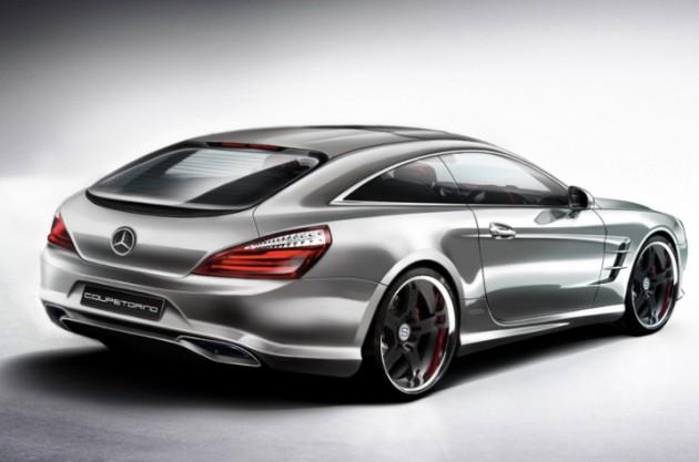 Coupetorino 2013 Mercedes-Benz SL Shooting Brake-rear