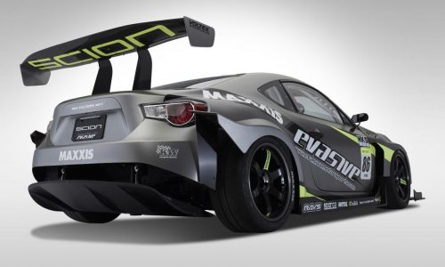 Scion Racing FR-S (Toyota 86) Pikes Peak racer unveiled