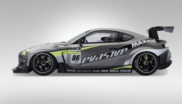 Evasive Motorsports Scion FR-S Pikes Peak racer