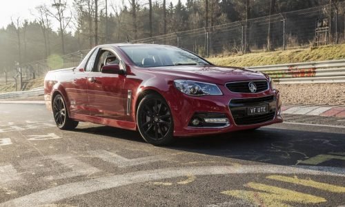 Holden VF SS V Redline Ute sets Nurburgring ute record (video)