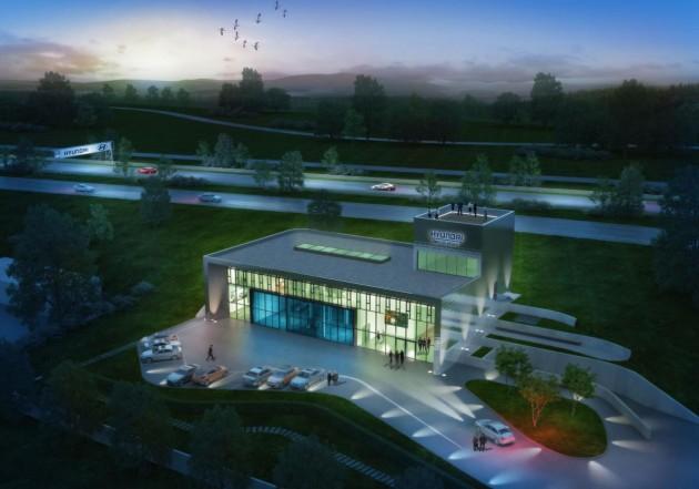Hyundai Nuburgring test centre