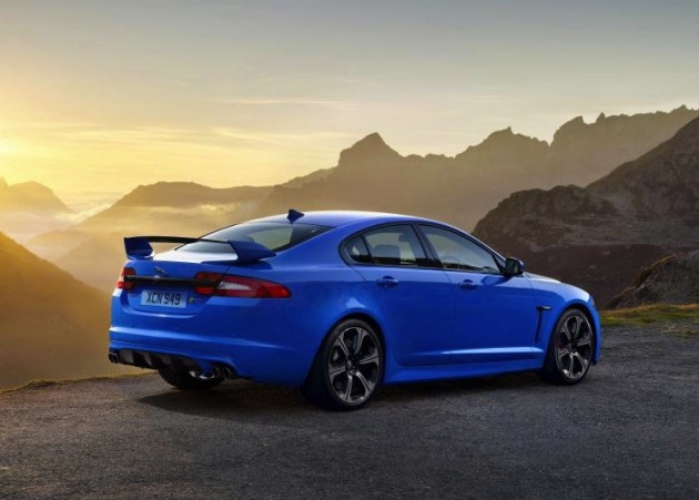 Jaguar XFR-S-rear