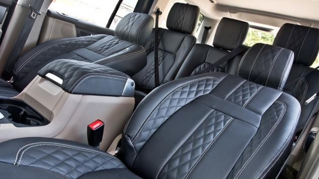 Kahn Design Land Rover Discovery interior