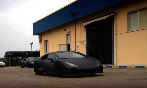 Lamborghini 'Cabrera' (Gallardo successor) spotted
