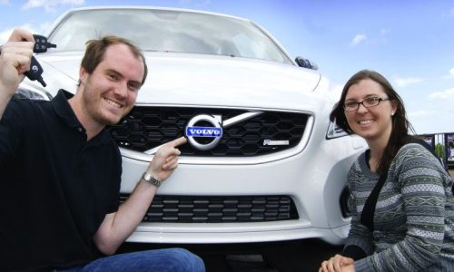 Last ever Volvo C30 claimed in competition giveaway