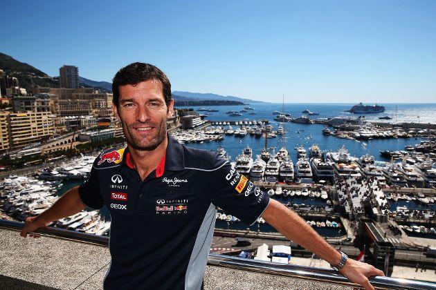 Mark Webber Red Bull Racing-Monaco 2013