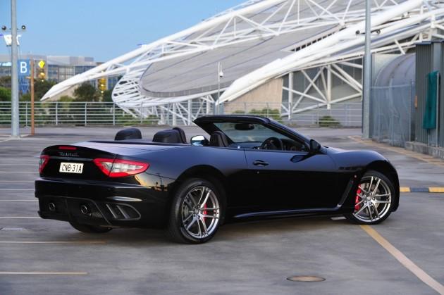 Maserati GranCabrio MC rear