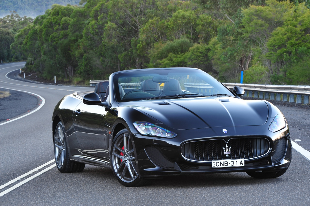 maserati grancabrio mc now on sale in australia from 355 000 performancedrive. Black Bedroom Furniture Sets. Home Design Ideas