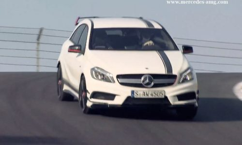 Video: Mercedes-Benz A 45 AMG first drive by Lewis Hamilton