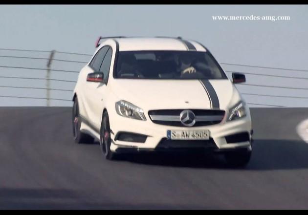 Mercedes-Benz A 45 AMG-Lewis Hamilton