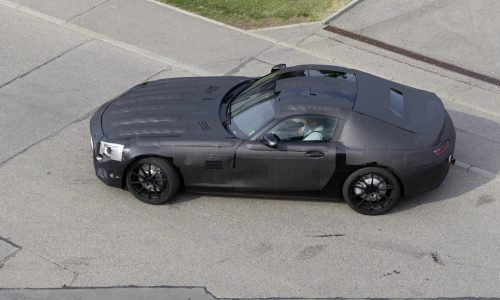 Mercedes-Benz 'SLC' AMG prototype revealed, 911 rival