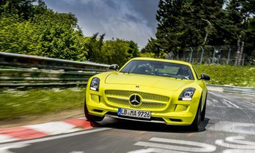 Mercedes-Benz SLS AMG Electric Drive breaks Nurburgring record