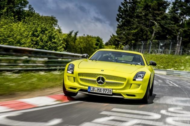 Mercedes-Benz SLS AMG Electric Drive Nurburgring