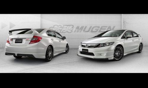 Mugen styling kit for ninth-gen Honda Civic sedan revealed