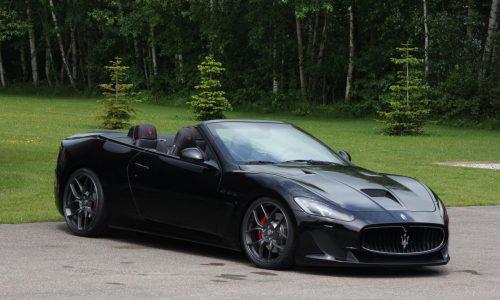 Novitec Tridente Maserati GranCabrio MC with supercharger kit