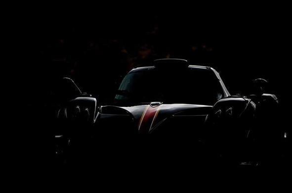 Pagani Zonda R Evolution teaser-maybe