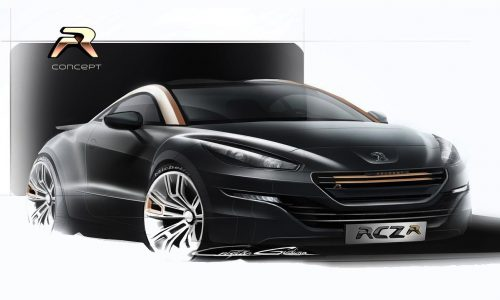 2014 Peugeot RCZ R production car to debut at Goodwood
