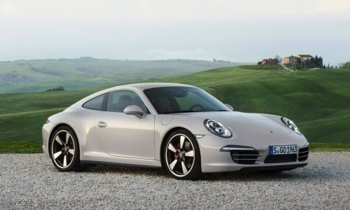 Porsche 911 50 Years Edition revealed, 1963 being made