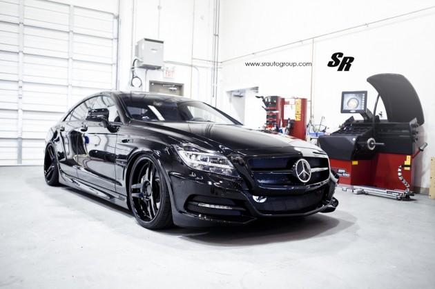 SR Auto Mercedes-Benz CLS-black