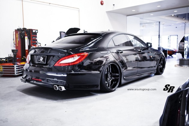 SR Auto Mercedes-Benz CLS-rear