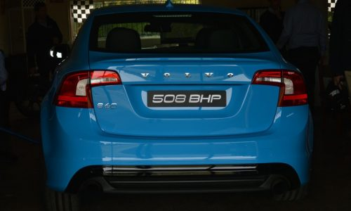 Volvo S60 Polestar Concept: production potential with electronic clutch (video)