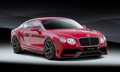 Vorsteiner Bentley Continental GT styling kit announced