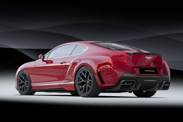 Vorsteiner Bentley Continental GT rear
