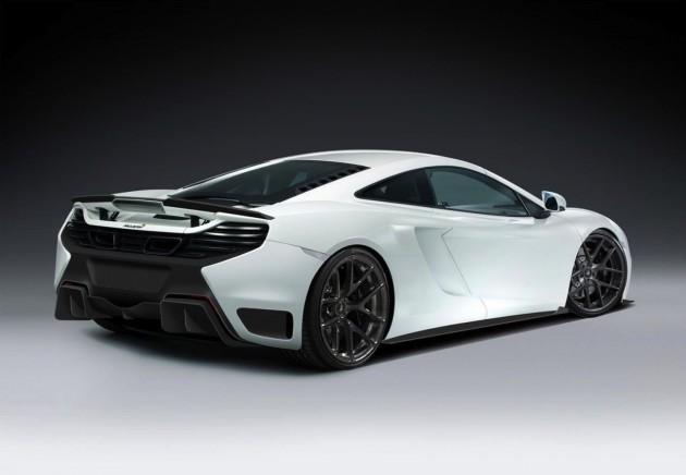Vorsteiner McLaren-V MP4-12C rear diffuser-