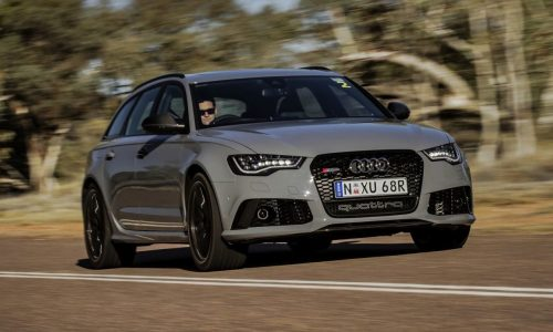 2013 Audi RS 6 Avant on sale in Australia, priced from $225,000