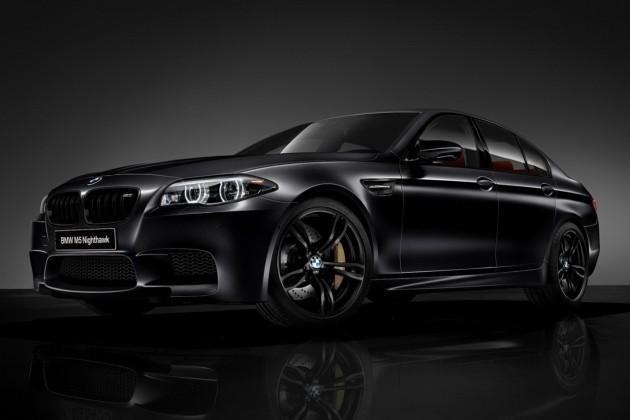 2013 BMW M5 Nighthawk Special Edition Frozen Black