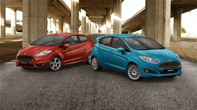 2013 Ford Fiesta ST and EcoBoost
