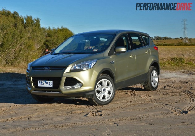 2013 Ford Kuga Ambiente EcoBoost Ginger Ale