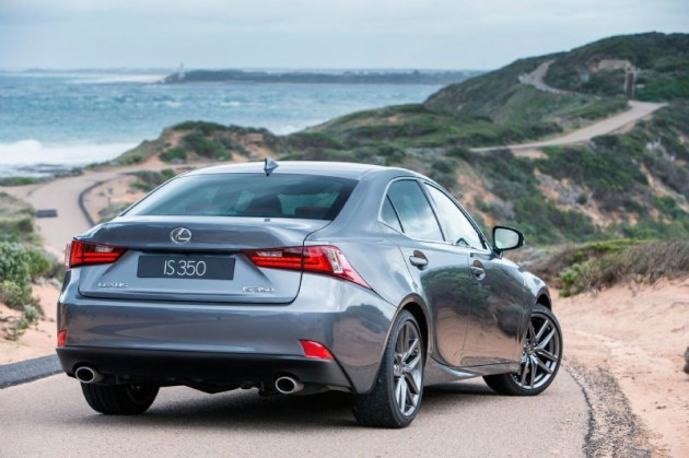 2013 Lexus IS 350 F Sport rear