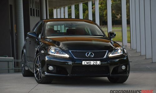 2013 Lexus IS F review (video)