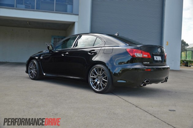 2013 Lexus IS F rear