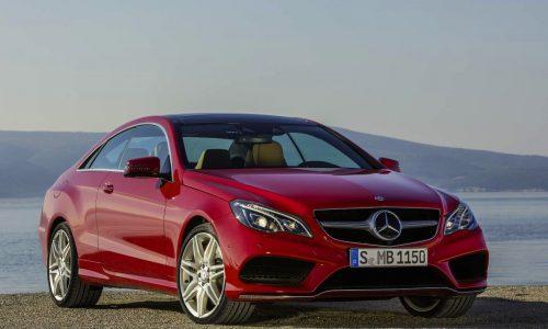 2013 Mercedes-Benz E-Class Coupe & Cabrio prices announced