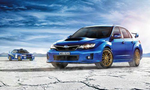 Subaru WRX RS40 special edition announced