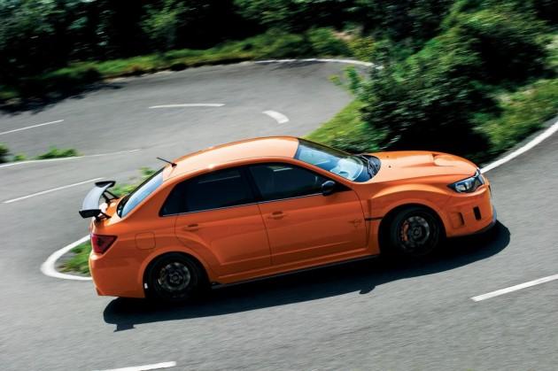 2013 Subaru WRX STI tS Type RA driving