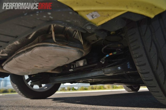 2013 Volkswagen Beetle rear suspension