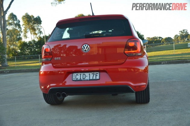 2013 Volkswagen Polo GTI hatch