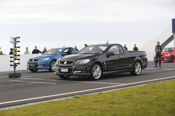 2014 Holden VF Commodore SS V Redline-Phillip Island drag