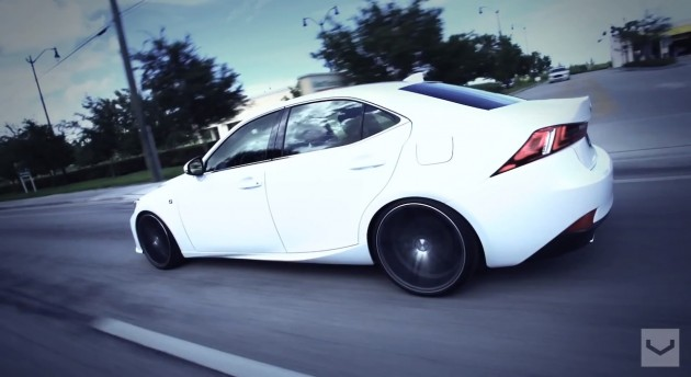 2014 Lexus IS350 F Sport Vossen CV5 wheels 8