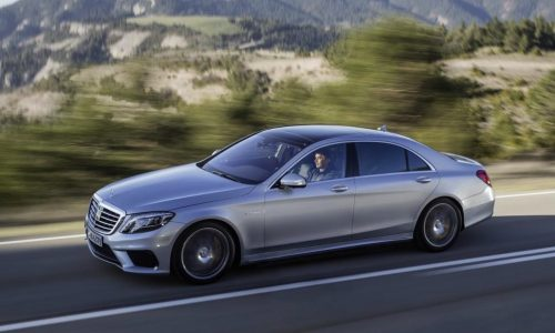 2014 Mercedes-Benz S 63 AMG V8 Biturbo revealed