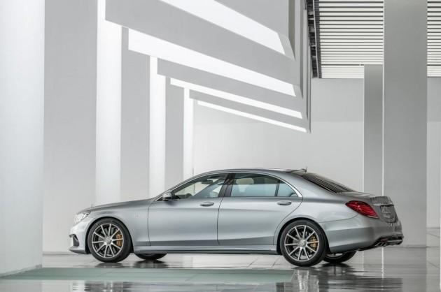 2014 Mercedes-Benz S 63 AMG rear
