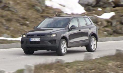 Video: 2015 Volkswagen Touareg prototype spotted