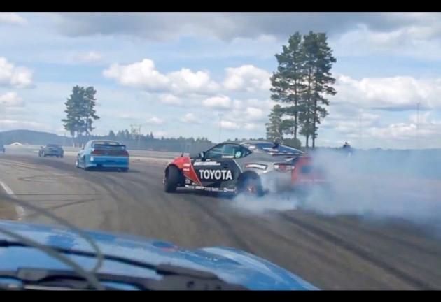 2JZ Toyota 86  drifting