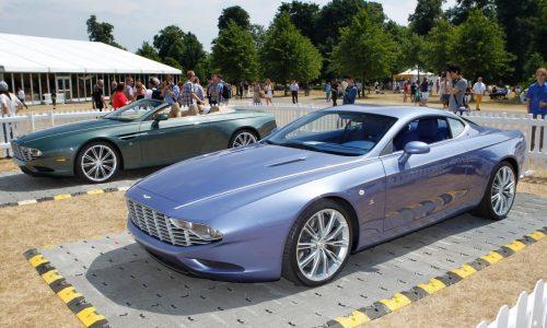 Aston Martin DBS and DB9 Zagato Centennial edtions revealed